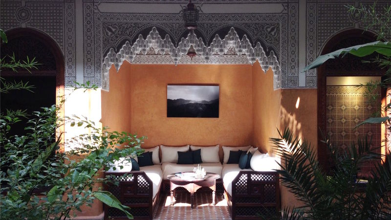 Photograph of Riad exclusivity