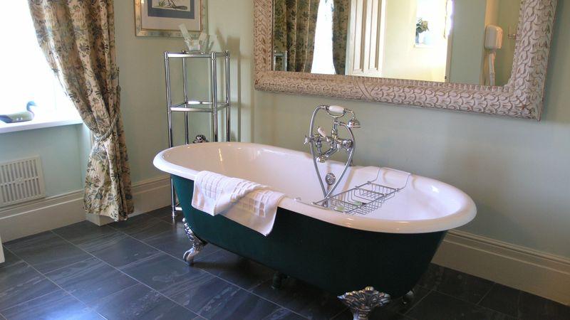 Medium crop jade room bathroom