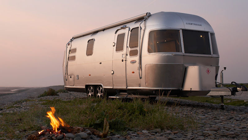 Photograph of Airstream