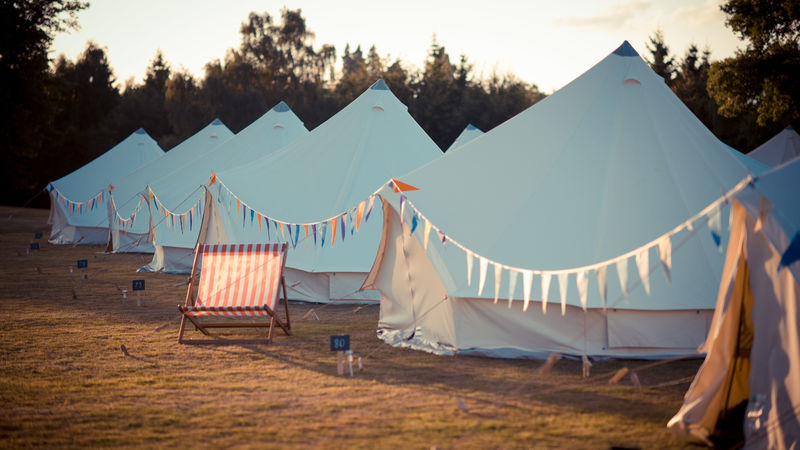 Photograph of Festival Bell Tent