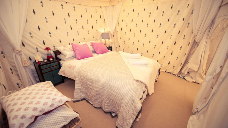 Medium crop tent house 9