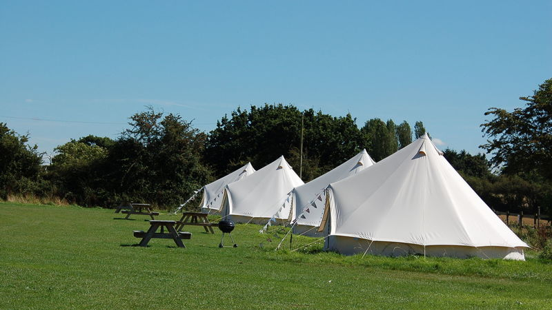 Photograph of Bell Tent