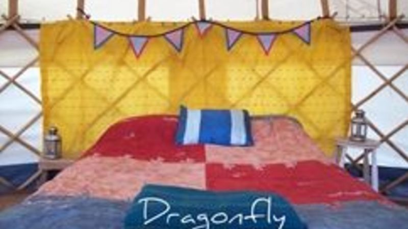 Photograph of Dragonfly Yurt