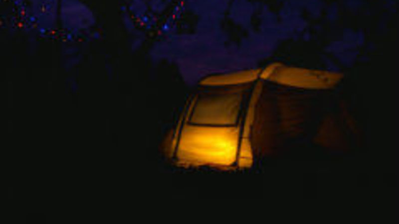Photograph of Tent Pitch Apple 1
