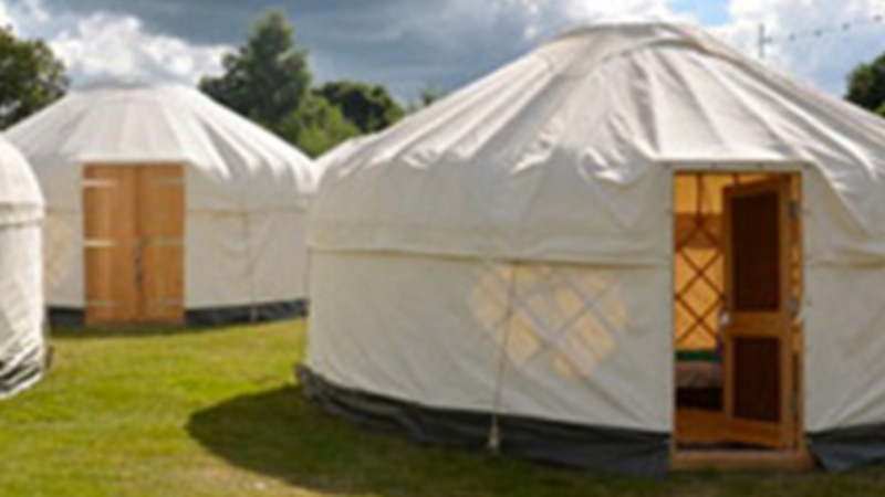 Photograph of 14Ft Luxury Yurt